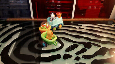 Cotoons Smoby Train Set 5 PC Good Shape Works Movement Sound Toddler Infant Toy