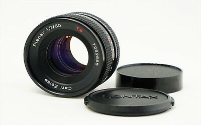 Carl Zeiss Planar T 50mm f/1.7 MF Lens for Contax Yashica MMJ From Japan Exc++