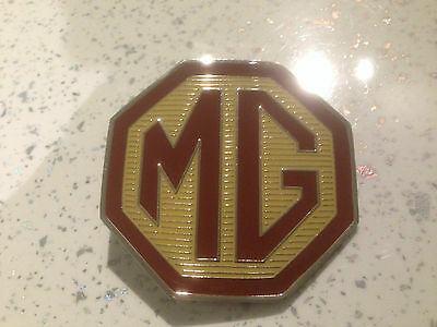 MG front or rear grille badge MG TF 70mm DAT000551
