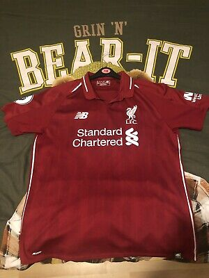 Liverpool Offical 2018/19 Home Shirt Jersey Football Top Large