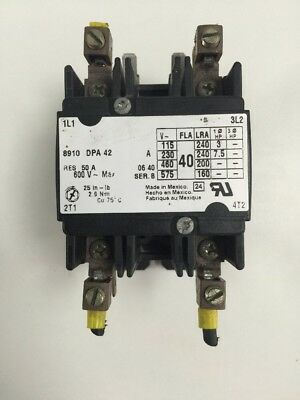 8910 Dpa 42 Definite Purpose Contactor