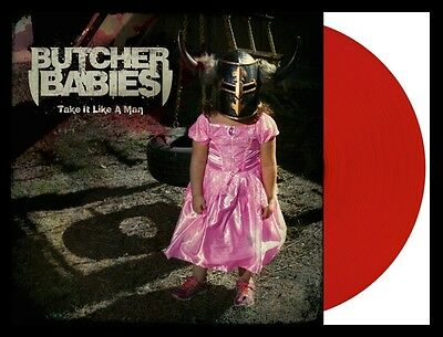 BUTCHER BABIES Take It Like A Man LP on RED VINYL New STILL SEALED /1000