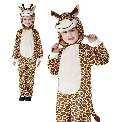 1 Monkey Fancy Dress Up Costume Outfit Animal Bodysuit Zoo Childrens Book Week