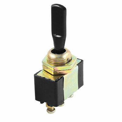 Panel Mounted ON-OFF-ON SPST Latching Toggle Switch AC 250V/10A 125V/15A