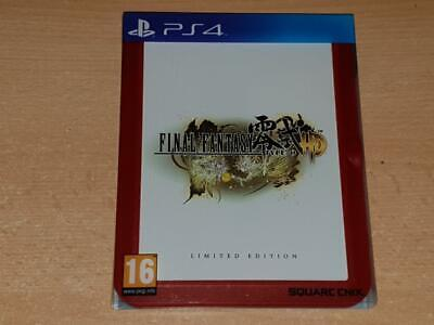 Final Fantasy Type-0 HD Limited Edition PS4 Playstation 4 **FREE UK POSTAGE**
