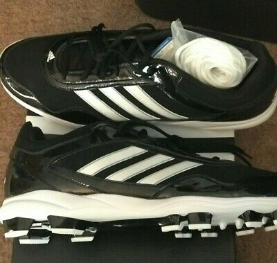 eed56b8a351d9 ADIDAS EXCELSIOR PRO Metal Mens Low Black/White Baseball Cleats ...