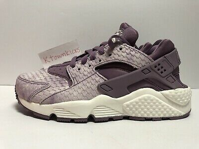 ed4e44d6e342 Nike Air Huarache Run Premium Purple Violet Dust 683818 500 Women s Size 6  NoLid