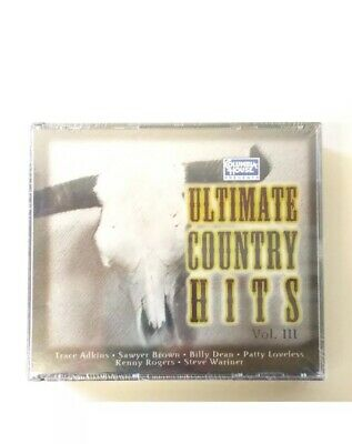 Ultimate Country Hits Volume 3 CD Three discs Columbia Trace Adkins Kenny Rogers