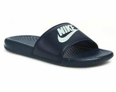 newest 6ac2d f7242 Nike Benassi Jdi 343880 403 Mens Slider Navy Pool Beach Sliders Sandals