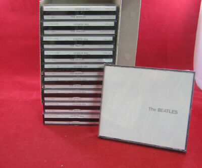 """New Lot Of 10 Cd's: The Beatles - """"the White Album"""" - 2 Cd Sets"""