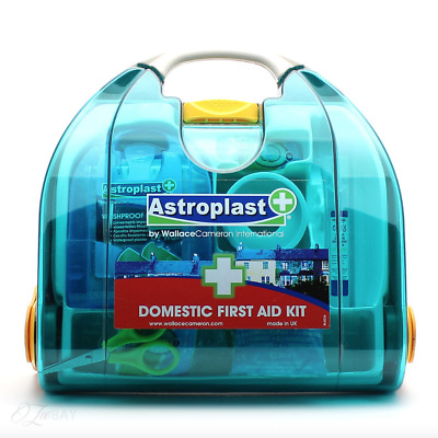 Astroplast Domestic First Aid Kit HOME or CAR SAFETY 32 Piece Wall Mounted 🚑