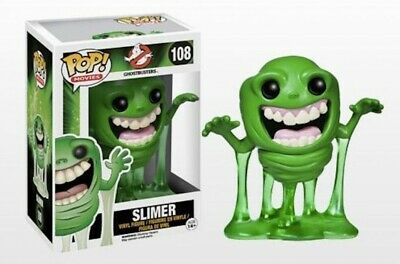 Funko Pop Movies Series Ghostbusters Slimer #108 Vinyl Figure Toy Doll New