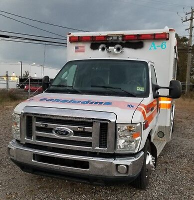 2008 Ford E450 Superduty Ambulance With Only 92K Miles