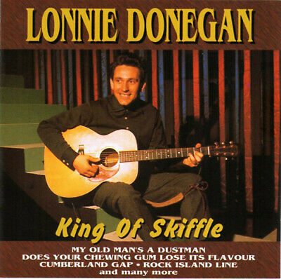 Lonnie Donegan King Of Skiffle T-Shirt All Sizes & Colours 50's Rock n Roll