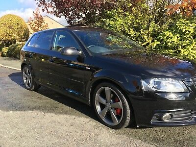 Audi A3 2.0 TDI S line sportback special edition 61 plate