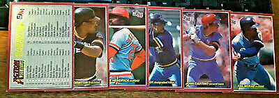 1984 Donruss Action All Stars Lot Of 5 Unopened Vintage Cello