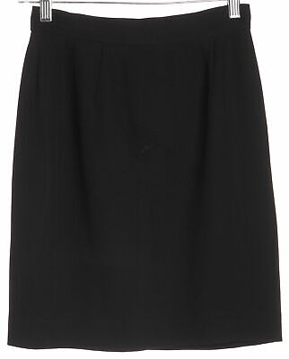 f65dc4e538 MOSCHINO CHEAP & CHIC Black Above Knee Pencil Skirt Size 6 IT 40