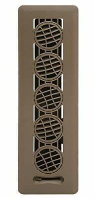 """Deflector Floor Vent Register with 360 Degree Directional Air Flow 2.25"""" x 12"""""""