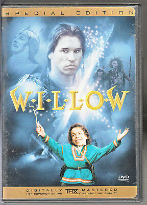 Willow (DVD, 2003, Special Edition Sensormatic) VERY GOOD w/ Insert