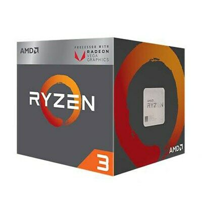 AMD Ryzen 3 2200G 4-Core Socket AM4 3.5GHz CPU with Radeon Vega 8 Graphics