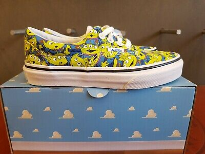 6b4ee0383aa71e New In The Box Vans Limited Edition Toy Story Era Aliens Shoes For Children