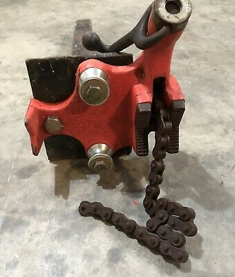 Ridgid BC410 Top Screw Bench Chain Vice 6-100mm Capacity 40195