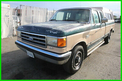 1991 Ford F-250  C 1991 Ford F250 Lariot XLT Automatic 8 Cylinders No Reserve