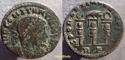 "Ancient Roman Coin - Constantine I (""the Great"") - Legionary Eagle Reverse"