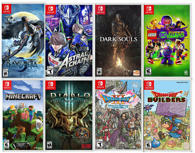 Nintendo Switch Authentic  Replacement Cases CASE ONLY NO GAME