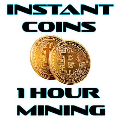 Instant Mining Contract .01 Bitcoin (BTC) Guaranteed! 1 Hour