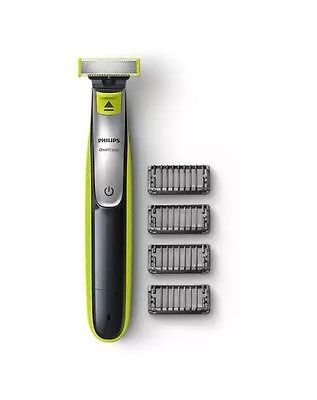 Philips ONEBLADE Electric Trimmer Styler Shaver 3 X Combs Qp2530/25