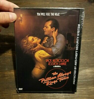 The Postman Always Rings Twice - DVD - Jack Nicholson - Brand New Factory Sealed