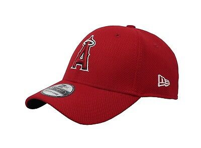 buy online fd60d 7a920 NEW ERA 39Thirty MLB Los Angeles Angels Red Stretch Fit Cap Adult Men Hat