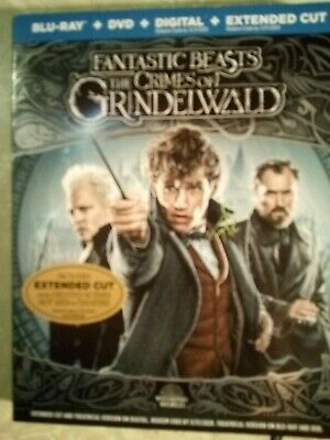 Fantastic Beasts: The Crimes of Grindelwald Blu-ray/DVD/Digital New Free Ship