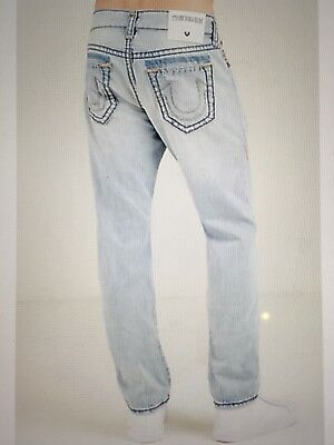 23eaf5ed1 True Religion Geno No Flap Super-T Men Jean Worn Tropics Mdaj19N29E Nwt 38W   349