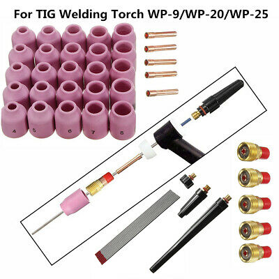 For TIG Welding Torch WP-9/20/25 Welding Consumables Series Lens Universal Gas
