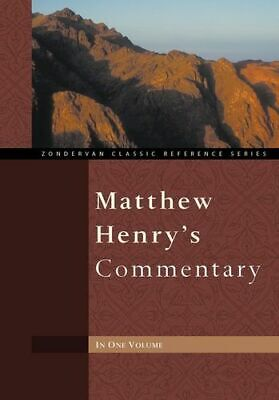 NEW Matthew Henry's Commentary By Matthew Henry Hardcover Free Shipping