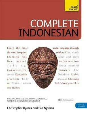 NEW Complete Indonesian (Bahasa Indonesia) By Eva Nyimas Book with Other Items