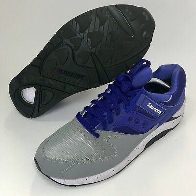 b7e036fe SAUCONY GRID 9000 Mens Size 10 Royal Blue Gray Sneakers S70077-41 ...