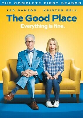 THE GOOD PLACE TV SERIES THE COMPLETE FIRST SEASON 1 New Sealed 2 DVD Set