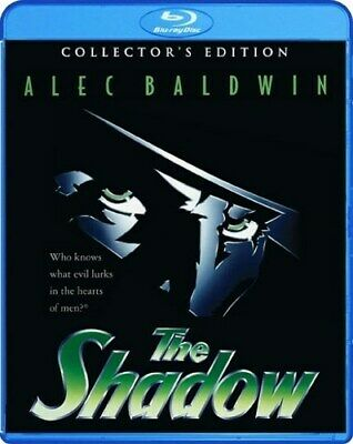 THE SHADOW New Sealed Blu-ray 1994 Collector's Edition Alec Baldwin