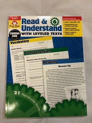 READ AND UNDERSTAND with Leveled Texts : Grade 6 by Evan-Moor