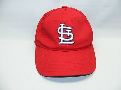 save off 822c9 a4d61 St Louis Cardinals Team MLB Baseball Hat Cap Red Sports Youth Kids  Adjustable