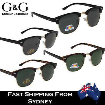 2020 Hot Clubmaster Men Women Retro Vintage Sunglasses Polarized Available