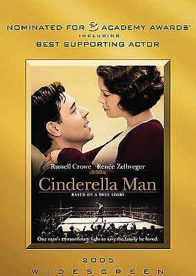 Cinderella Man (DVD, 2005, Widescreen) IN SLIM CASE, NO ART