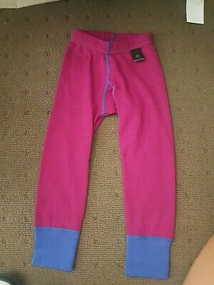 Merino wool kids thermal pants size 2/3