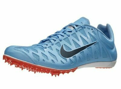 newest ec65d 4a63d Nike Zoom Maxcat 4 Spikes Track Field Shoes Sprint Blue Orange 549150 New