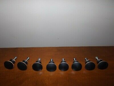 Lot of 8 Vintage Round Drawer Knob Pull Handles Door Cupboard Cabinet Knobs