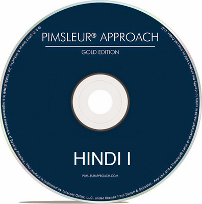 Pimsleur HINDI I - Gold Edition - 5 CDs - 10 Units - Level One (1)