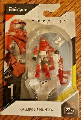 Mega Construx Destiny Kallipolis Hunter #FMK01 SERIES 1 Building Set